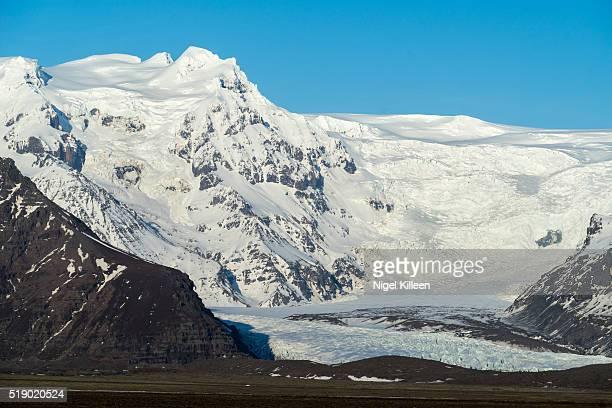 vatnajokull national park, iceland - austurland stock pictures, royalty-free photos & images