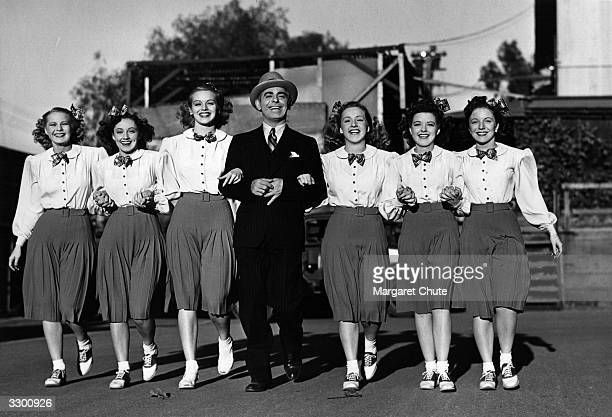 Vaudeville entertainer Eddie Cantor stars with Bonita Granville Diana Lewis Louise Seidel Martha O'Driscoll Margaret Early and Charlotte Munier in...
