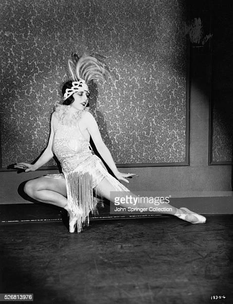 Vaudeville Performer Curtyne Engler Dancing