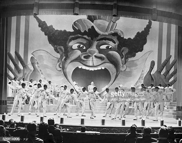 Vaudeville Performers Dancing in a Minstrel Movie