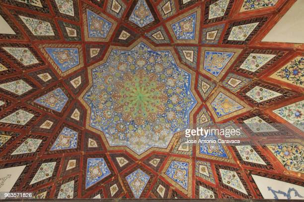vault in garden of fin - tehran stock pictures, royalty-free photos & images