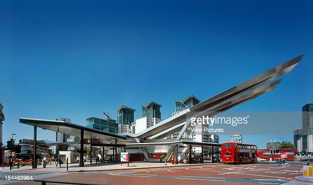 Vauxhall Cross Bus Station London United Kingdom Architect Arup Associates Vauxhall Cross Bus Station Southeast Facing Elevation