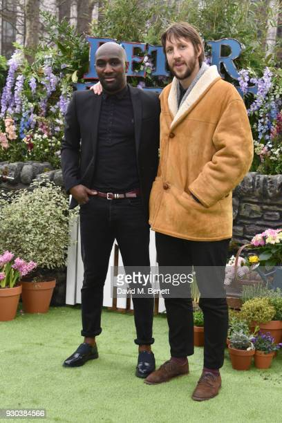 Vauxhall Jermaine and Tommy Greaves attend the UK Gala Premiere of 'Peter Rabbit' at the Vue West End on March 11 2018 in London England