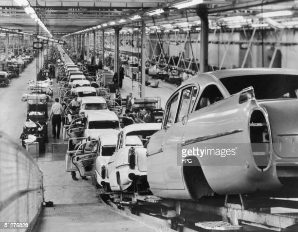 Vauxhall Production Line