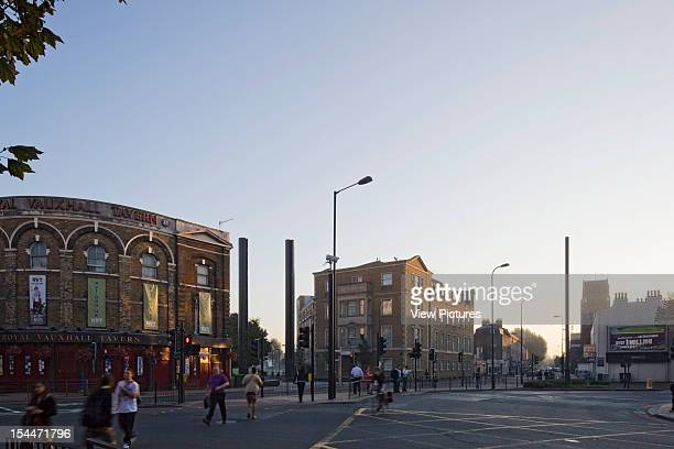 Vauxhall Spring Gardens Dsdha London United Kingdom General View Of Park Entrance And Street Scenes Dsdha Architects United Kingdom Architect