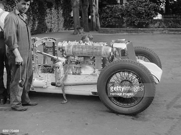 Vauxhall Villiers Vehicle Reg. No. TL1113. Place: Date:Artist Bill Brunell.