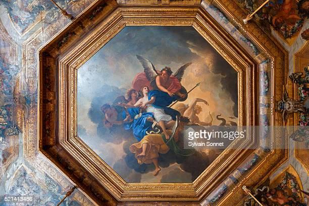 vaux-le-vicomte castle, france - renaissance stock-fotos und bilder