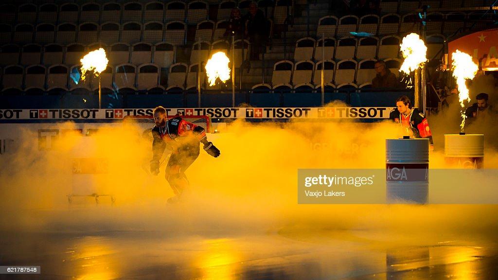 Vaxjo Lakers  v SaiPa Lappeenranta - Champions Hockey League : News Photo