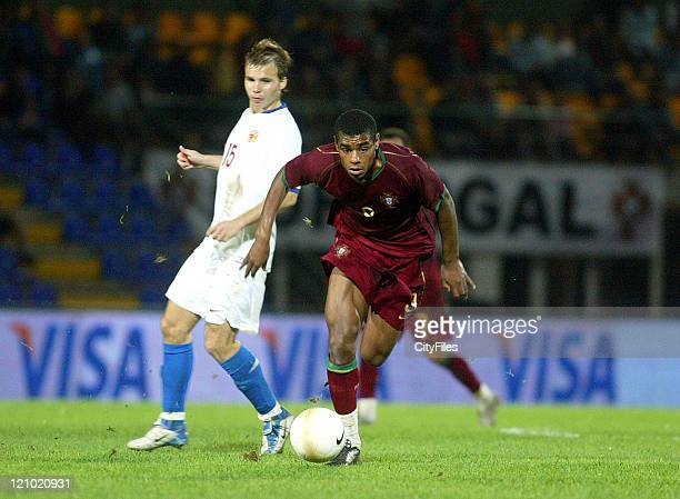 Vaz Té during the Under 21 Championship Playoffs between Portugal and Russia in Porto Portugal on October 10 2006