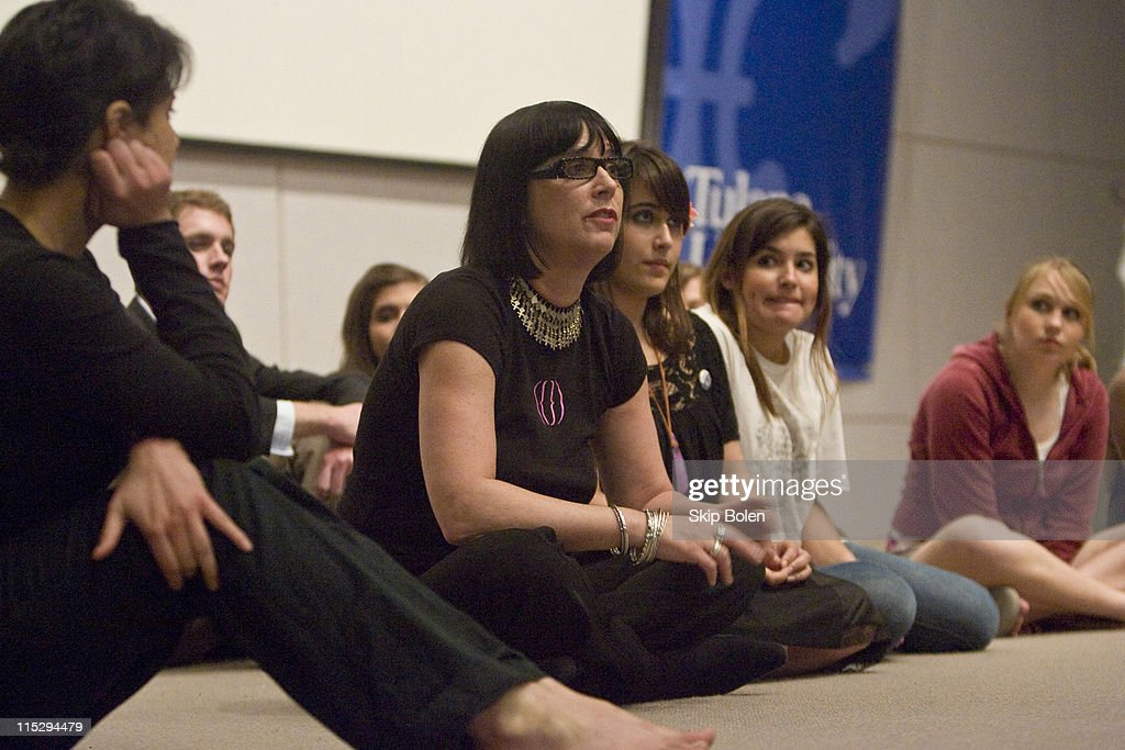 Eve Ensler Performs Her Monologue ?Fur Is Back? at Tulane University in
