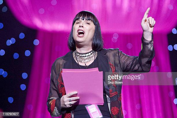 VDay Founder and 'The Vagina Monologues' playwright Eve Ensler at VDay the global movement to end violence against women and girls celebrating it's...