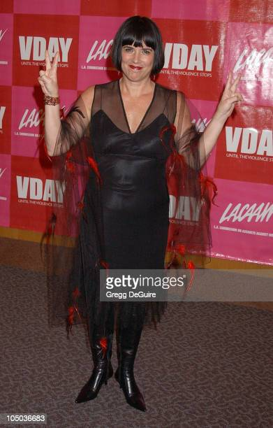 VDay Founder and The Vagina Monologues playwright Eve Ensler