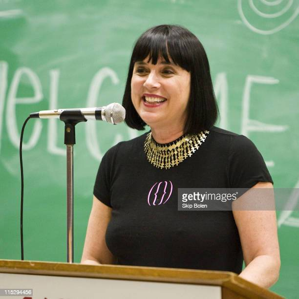 VDay Founder and The Vagina Monologues playwright Eve Ensler speaks at the University of New Orleans on her V To The Tenth The Road To New Orleans...