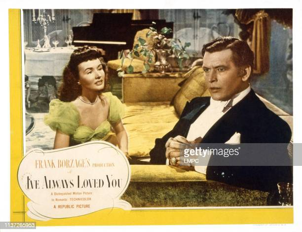 I've Always Love You US lobbycard from left Catherine McLeod Philip Dorn 1946