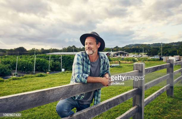 i've been in the farming trade for years - australia stock pictures, royalty-free photos & images