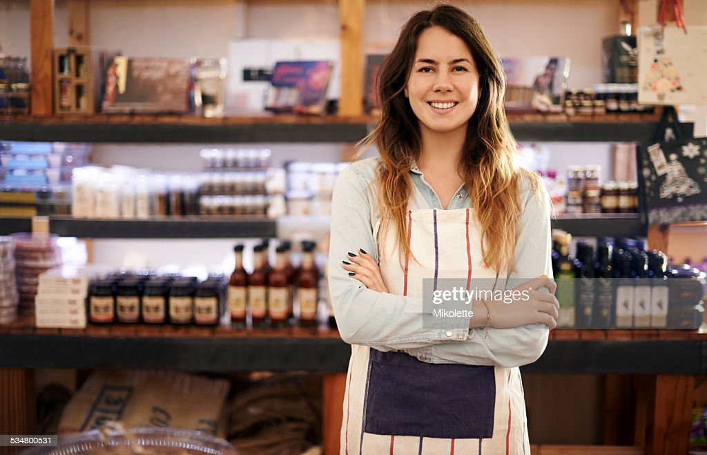 I've got a new business on the grow : Stock Photo