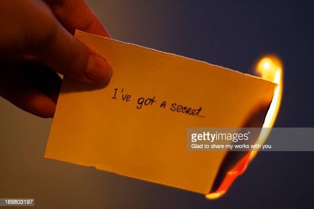 I've got a secret...