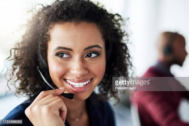 i've got the perfect solution... - call center stock pictures, royalty-free photos & images