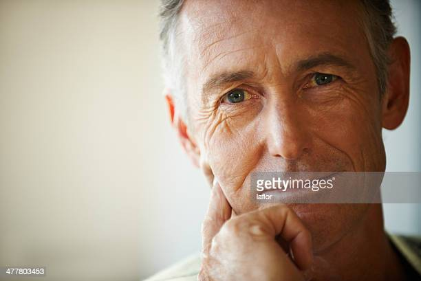 i've planned for my retirement, have you? - handsome 50 year old men stock photos and pictures