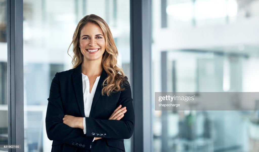 I've solidified my name in the business world : Stock Photo