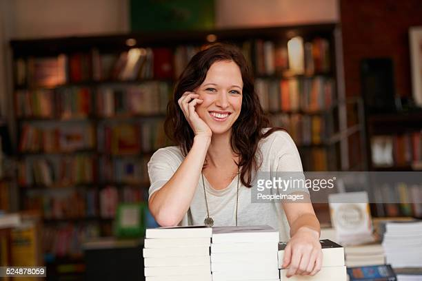 i've worked hard to make my bookstore successful - book store stock photos and pictures