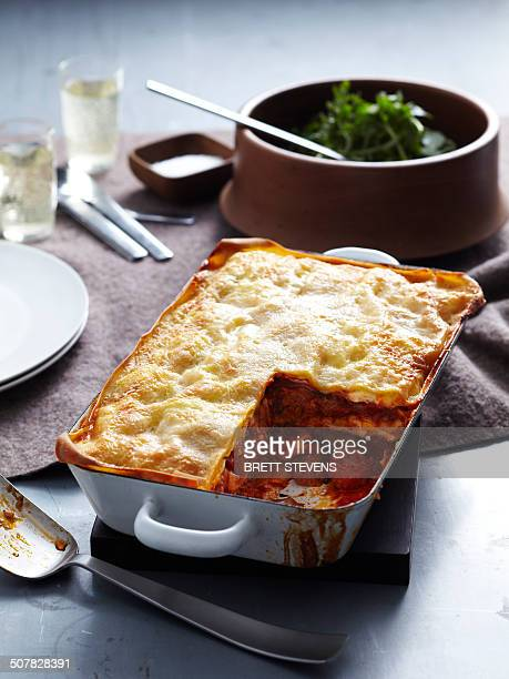 Veal and pork lasagne