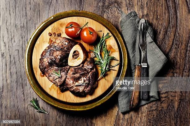 Veal dinner
