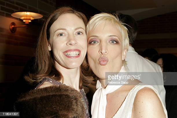 Veanne Cox and Jo Levi during What A Pair 3 To Benefit Revlon/UCLA Breast Center After Party at UCLA Royce Hall in Los Angeles California United...
