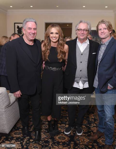 Vector Management Founder and CoPresident Ken Levitan musician Carly Pearce Country Music Hall of Fame Museum CEO Kyle Young and Kos Weaver attend...