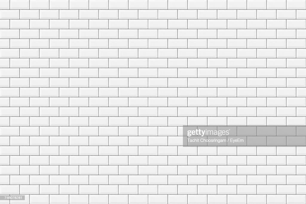 Vector Of Tiled Wall Pattern : Stock Photo