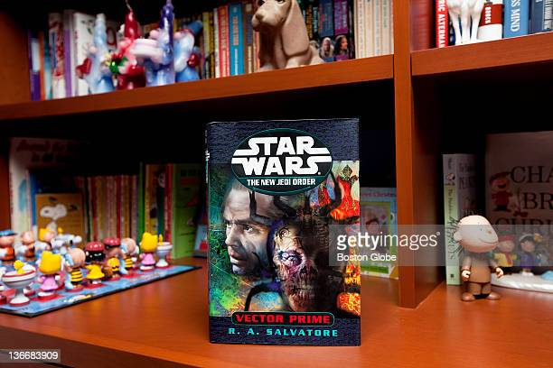 'Vector Prime' is a controversial book Salvatore wrote where Chewbacca the popular Star Wars character dies RA 'Bob' Salvatore is photographed at his...