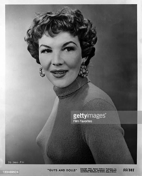 Veda Ann Borge publicity portrait for the film 'Guys And Dolls' 1955