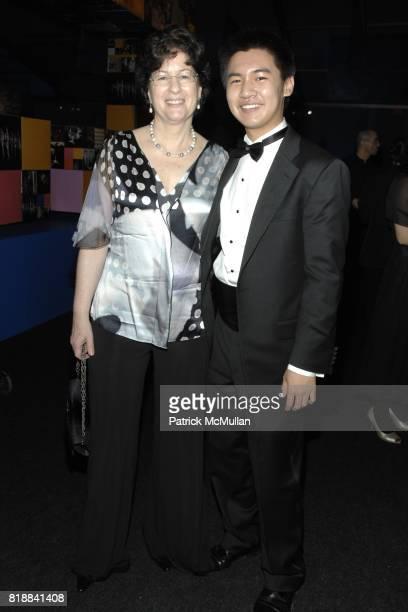 Veda Kaplinsky and Conrad Tao attend The Juilliard School Gala Celebrating Joseph W Polisi at The Juilliard School on April 26 2010 in New York City