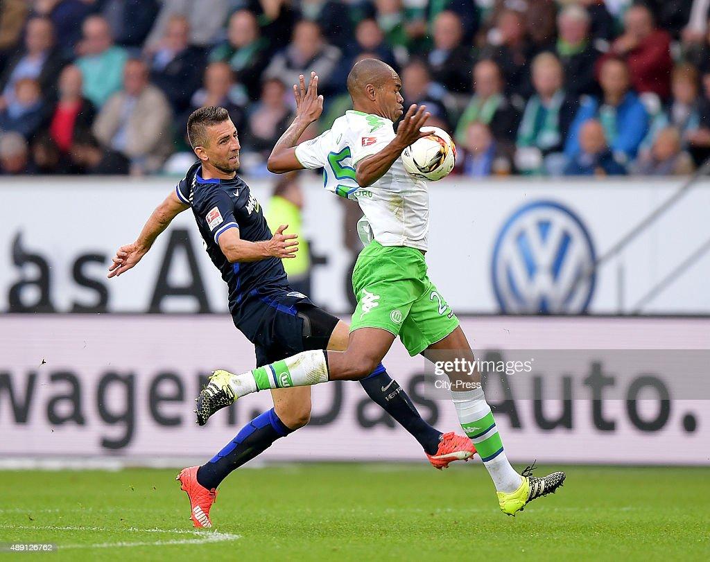 VfL Wolfsburg v Hertha BSC - 1. Bundesliga : News Photo