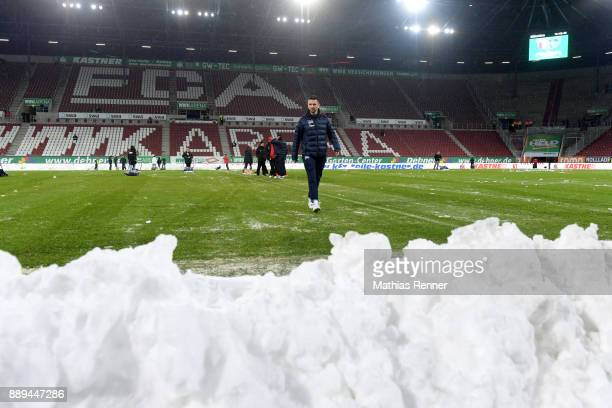 Vedad Ibisevic of Hertha BSC before the game between dem FC Augsburg and Hertha BSC on december 10 2017 in Augsburg Germany