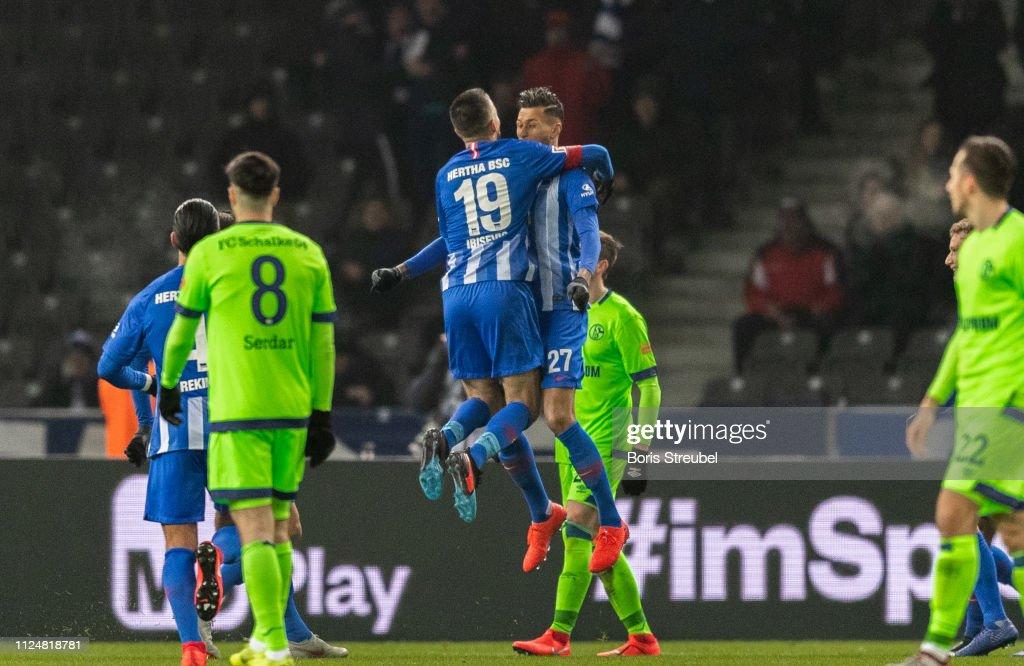 Hertha BSC v FC Schalke 04 - Bundesliga : Nachrichtenfoto