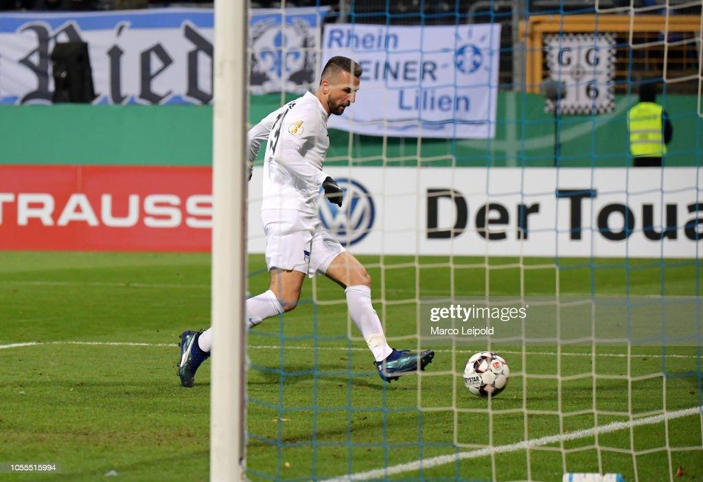 SV Darmstadt 98 v Hertha BSC - Bundesliga : Nachrichtenfoto