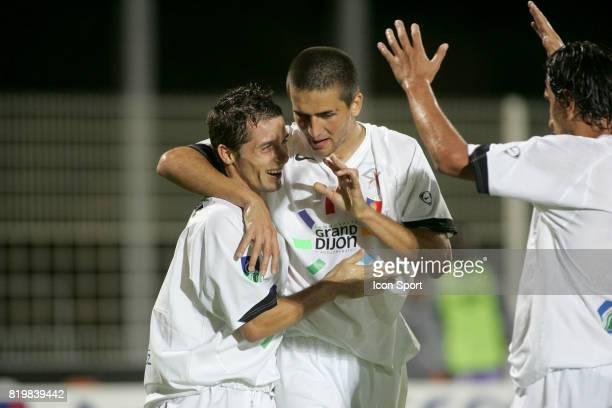 Vedad IBISEVIC / Stephane MANGIONE - Istres / Dijon - - 7e Journee de Ligue 2