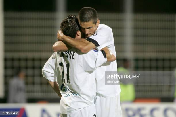Vedad IBISEVIC / StΘphane MANGIONE - Istres / Dijon - - 7e Journee de Ligue 2