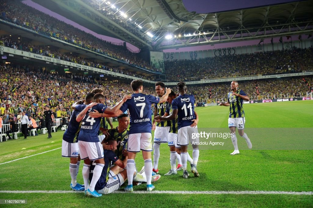 Fenerbahce v Gazisehir Gaziantep: Turkish Super Lig : Foto di attualità