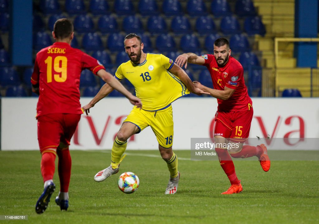 Montenegro v Kosovo - UEFA Euro 2020 Qualifier : News Photo