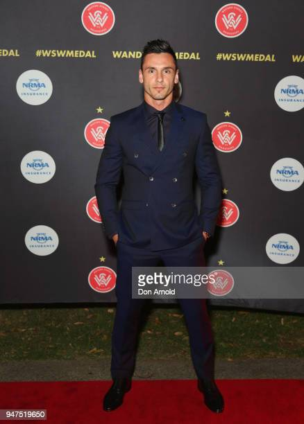 Vedran Janjetovic attends the Wanderers Medal 2018 on April 17 2018 in Sydney Australia
