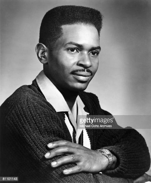 Vee Jay Records and Fame Records recording star Jimmy Hughes poses for a portrait circa 1962 in New York City, New York.