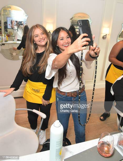 Veena Crownholm attends JNSQ Launches as Official Wine Partner of Drybar Salons Nationwide - LA Launch Party at Drybar Beverly Hills on March 22,...