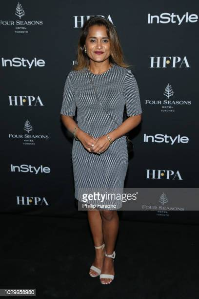 Veena Sud attends The Hollywood Foreign Press Association and InStyle Party during 2018 Toronto International Film Festival at Four Seasons Hotel on...