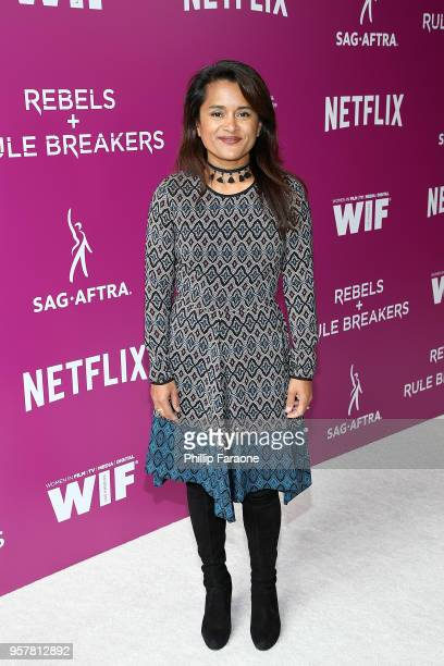 Veena Sud attends the Netflix Rebels and Rule Breakers For Your Consideration Event at Netflix FYSee Space on May 12 2018 in Beverly Hills California