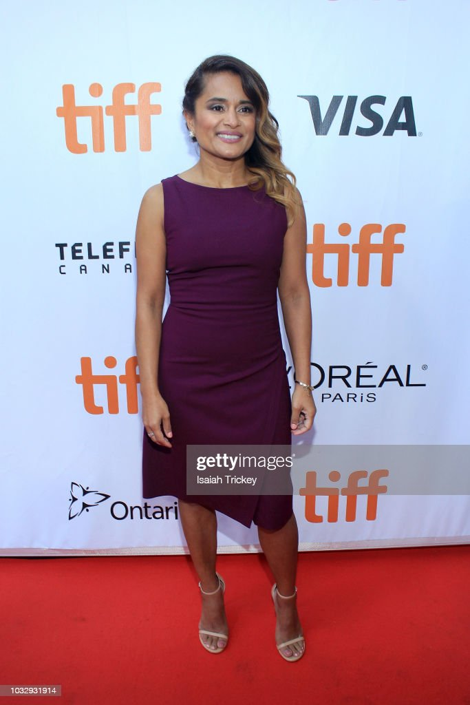 Veena Sud attends the 'The Lie' premiere during 2018 Toronto International Film Festival at Roy Thomson Hall on September 13, 2018 in Toronto, Canada.