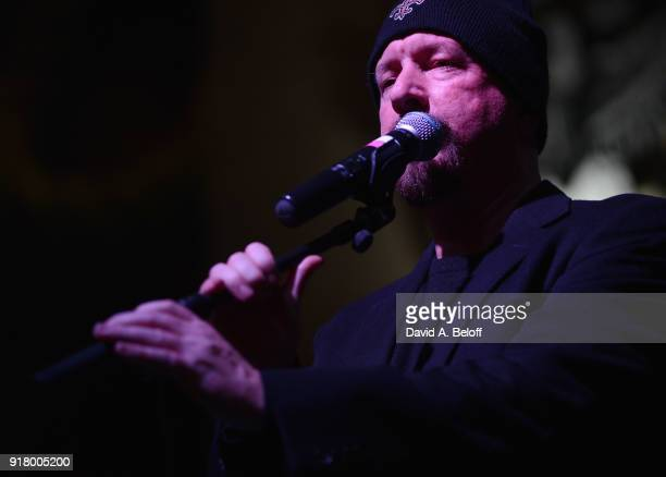 Veer Magazine founder Jeff Maisey announces Waxing Poetics during the Veer Music Awards at Waterside District on February 13 2018 in Norfolk Virginia
