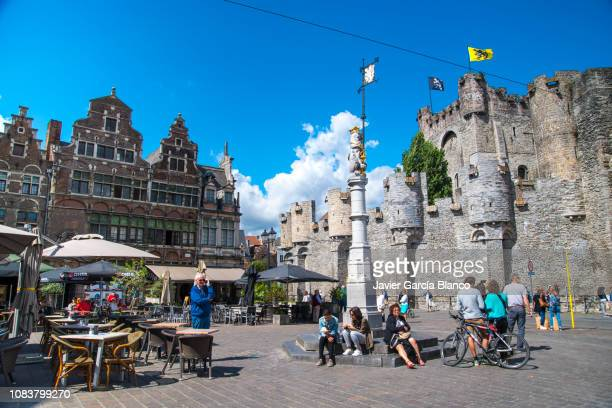 veerkeplein square - west flanders stock pictures, royalty-free photos & images