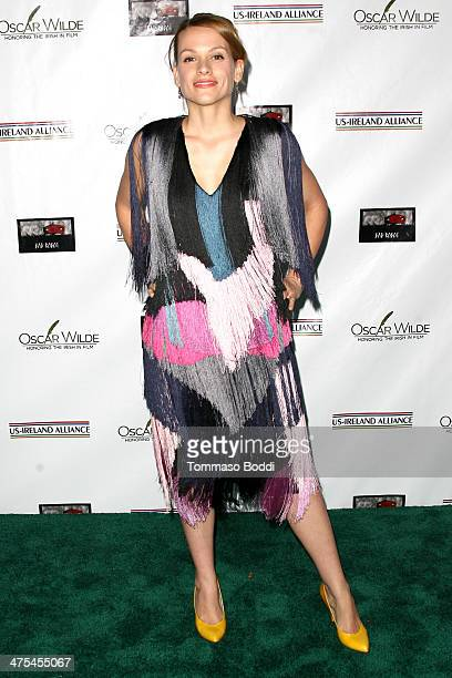 Veerle Baetens attends the USIreland alliance preAcademy Awards event held at Bad Robot on February 27 2014 in Santa Monica California